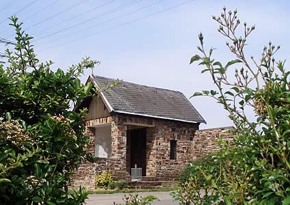 Gebrannten Heiligen-Häuschen